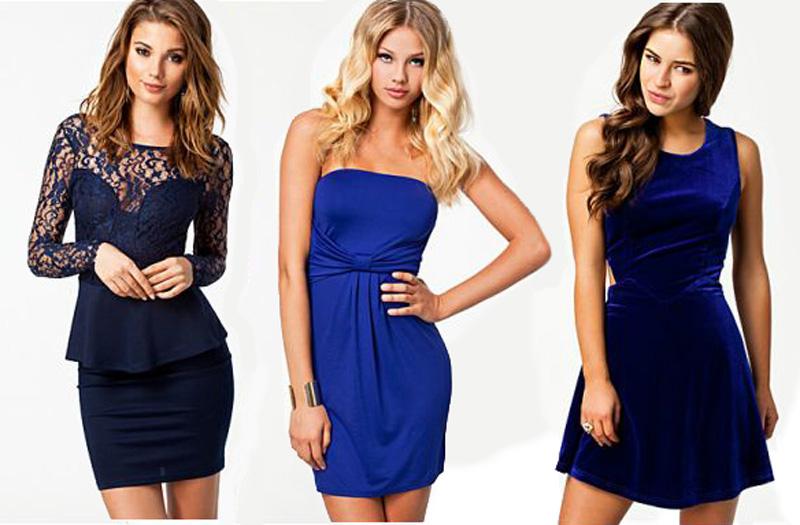 blauwe jurkjes